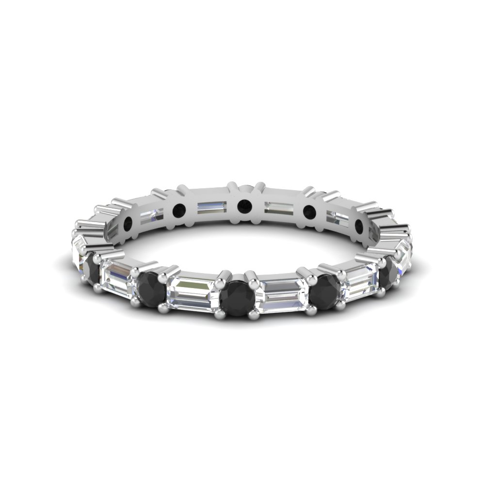 Black Diamond Eternity Bands