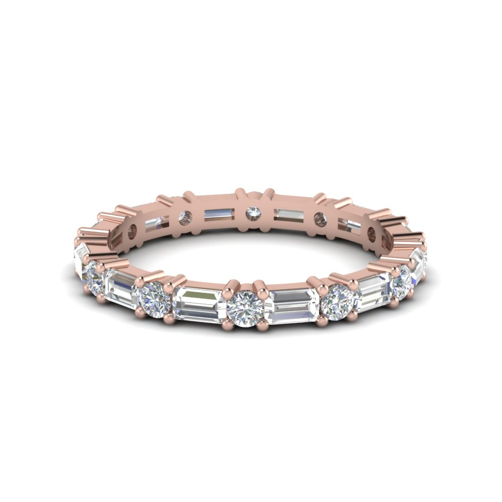 fine band with pink small eternity jewelry jen stephanie diamonds products bands rose gold gottlieb