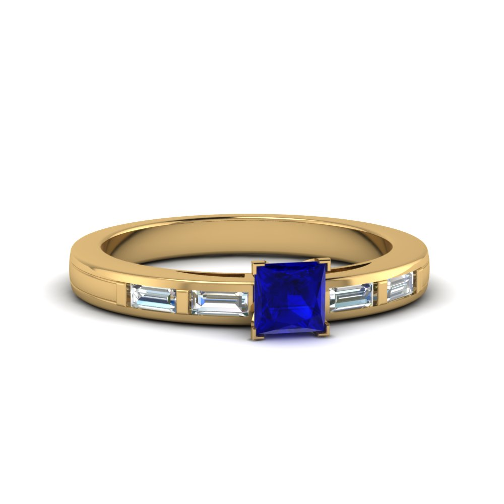 baguette sapphire engagement ring in FDENS218PRRGBS NL YG.jpg