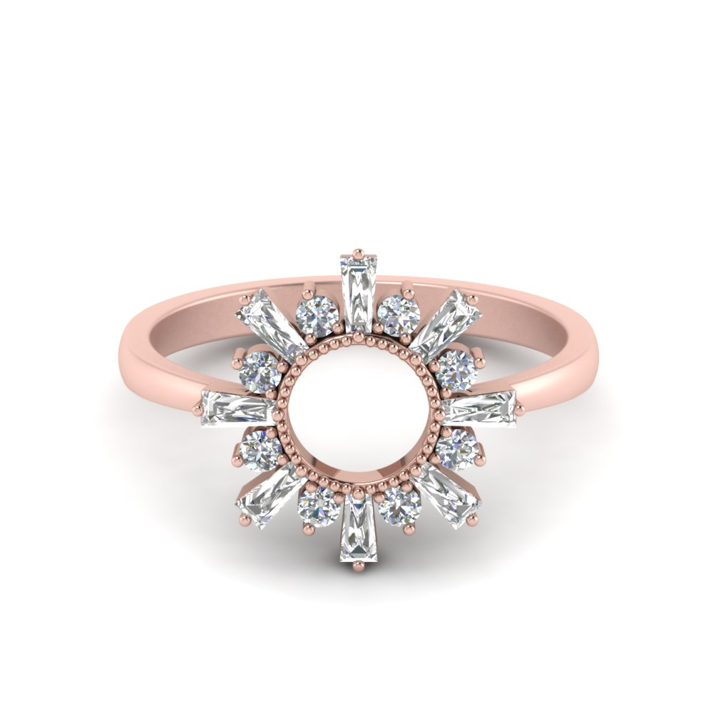 baguette-diamond-sunrays-design-engagement-ring-in-FD123751-NL-RG
