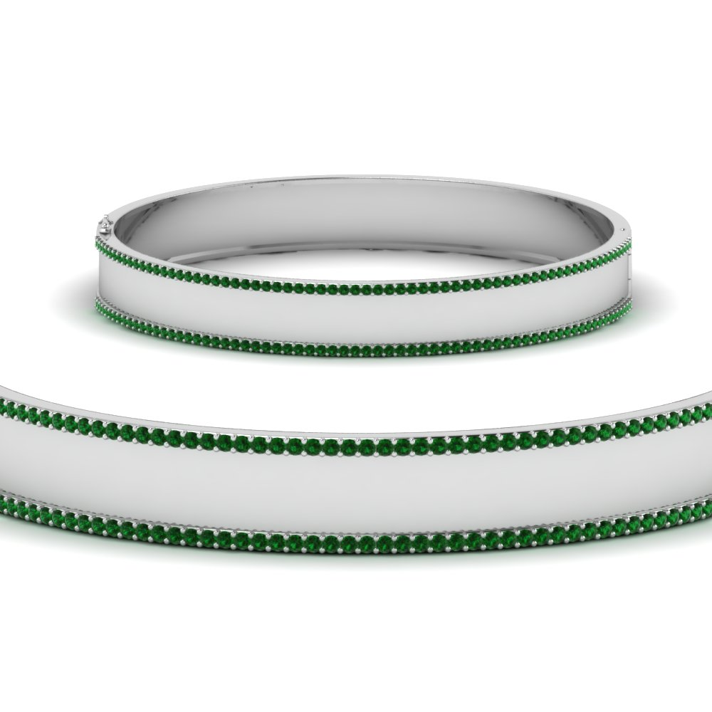 bangle-bracelet-with-emerald-in-FDBRC9217GEMGRANGLE2-NL-WG