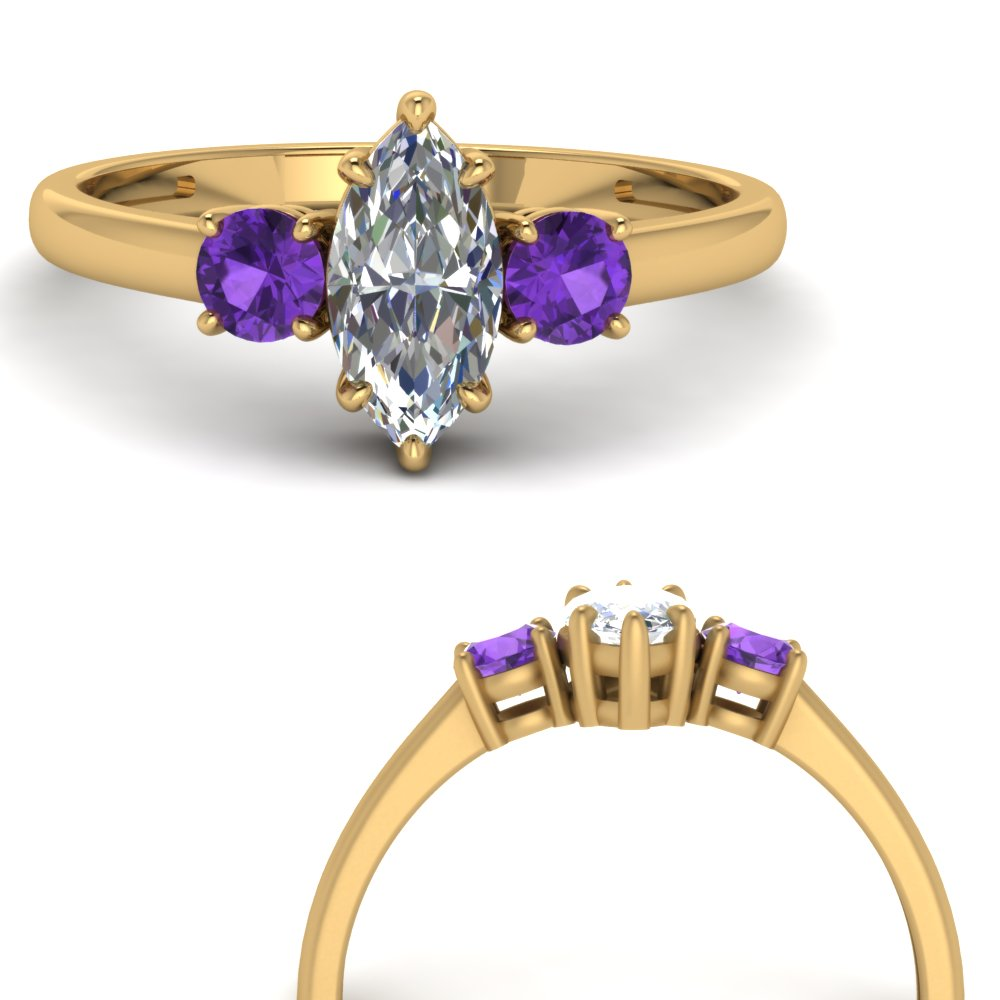 basket-3-stone-marquise-cut-engagement-ring-with-purple-topaz-in-FD9166MQRGVITOANGLE3-NL-YG