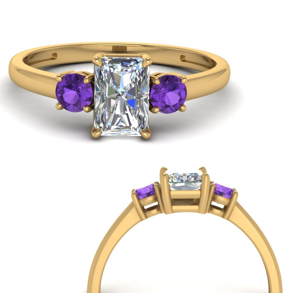 basket-3-stone-radiant-cut-engagement-ring-with-purple-topaz-in-FD9166RARGVITOANGLE3-NL-YG