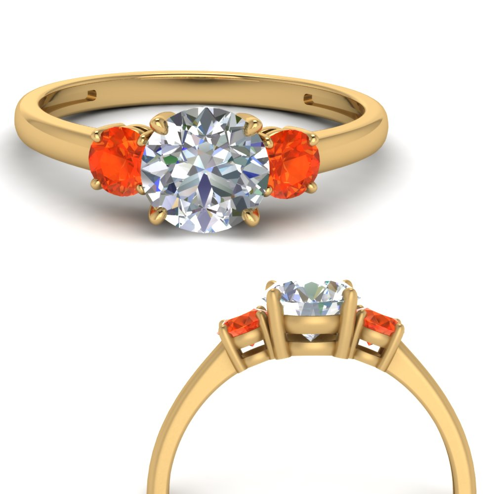 basket-3-stone-round-cut-engagement-ring-with-orange-topaz-in-FD9166RORGPOTOANGLE3-NL-YG