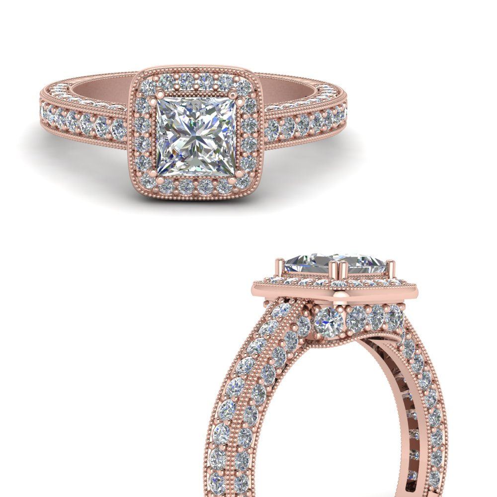 beautiful-antique-looking-diamond-princess-cut-engagement-ring-in-FDENR6553PRRANGLE3-NL-RG