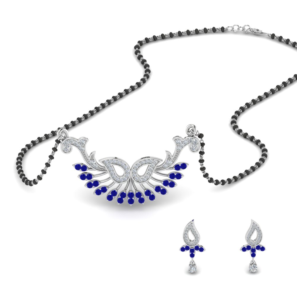 beautiful-diamond-mangalsutra-earring-set-with-sapphire-in-MGS9077GSABL-NL-WG