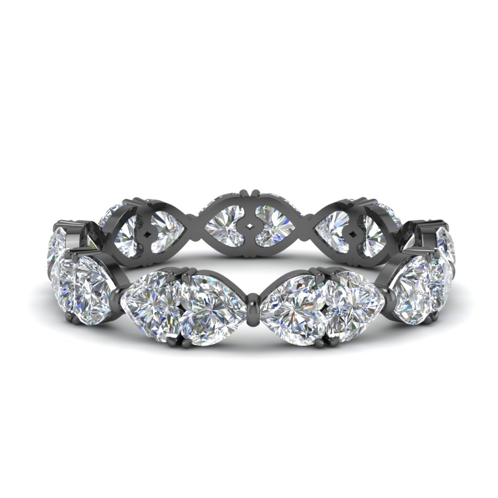 beautiful 3.50 ct. heart diamond eternity band in FDEWB8856HT NL BG.jpg