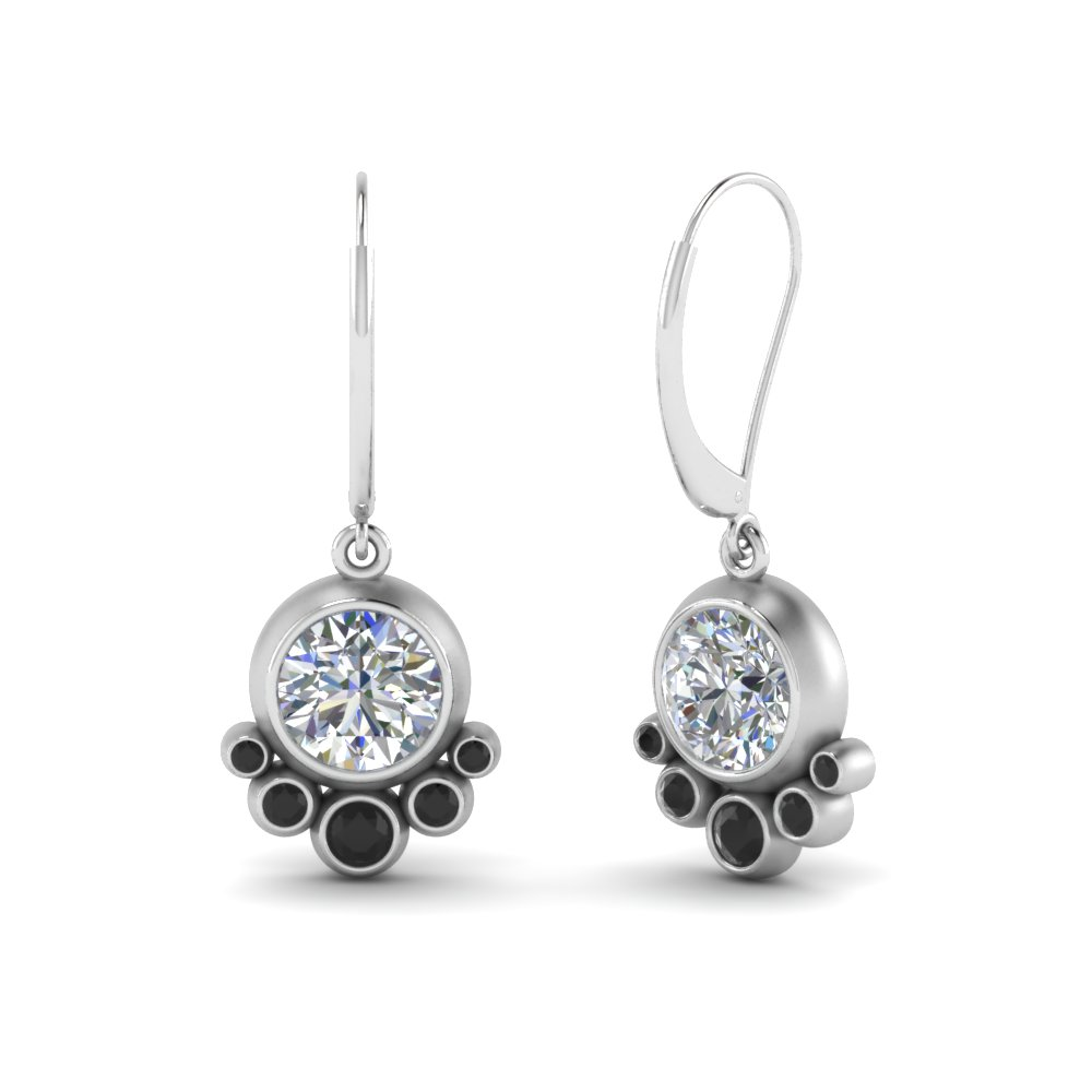 bezel-dangle-earring-with-black-diamond-in-FDEAR9180GBLACKANGLE2-NL-WG