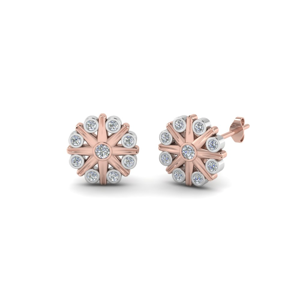 bezel-flower-stud-diamond-earring-2-tone-in-FDEAR8633NL-WG