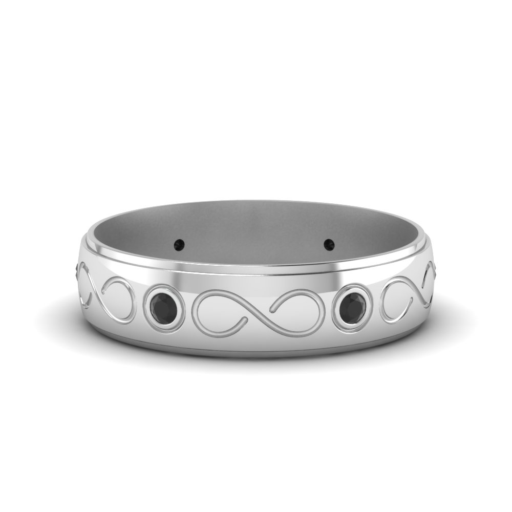 Black Diamond Mens Infinity Band
