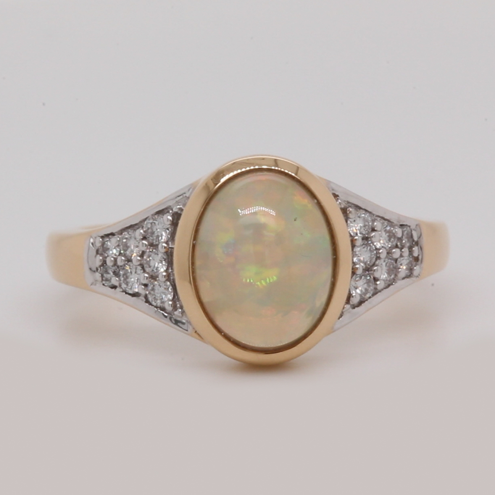 bezel-set-opal-and-diamond-engagement-ring-in-FDKHR20655-NL-YG