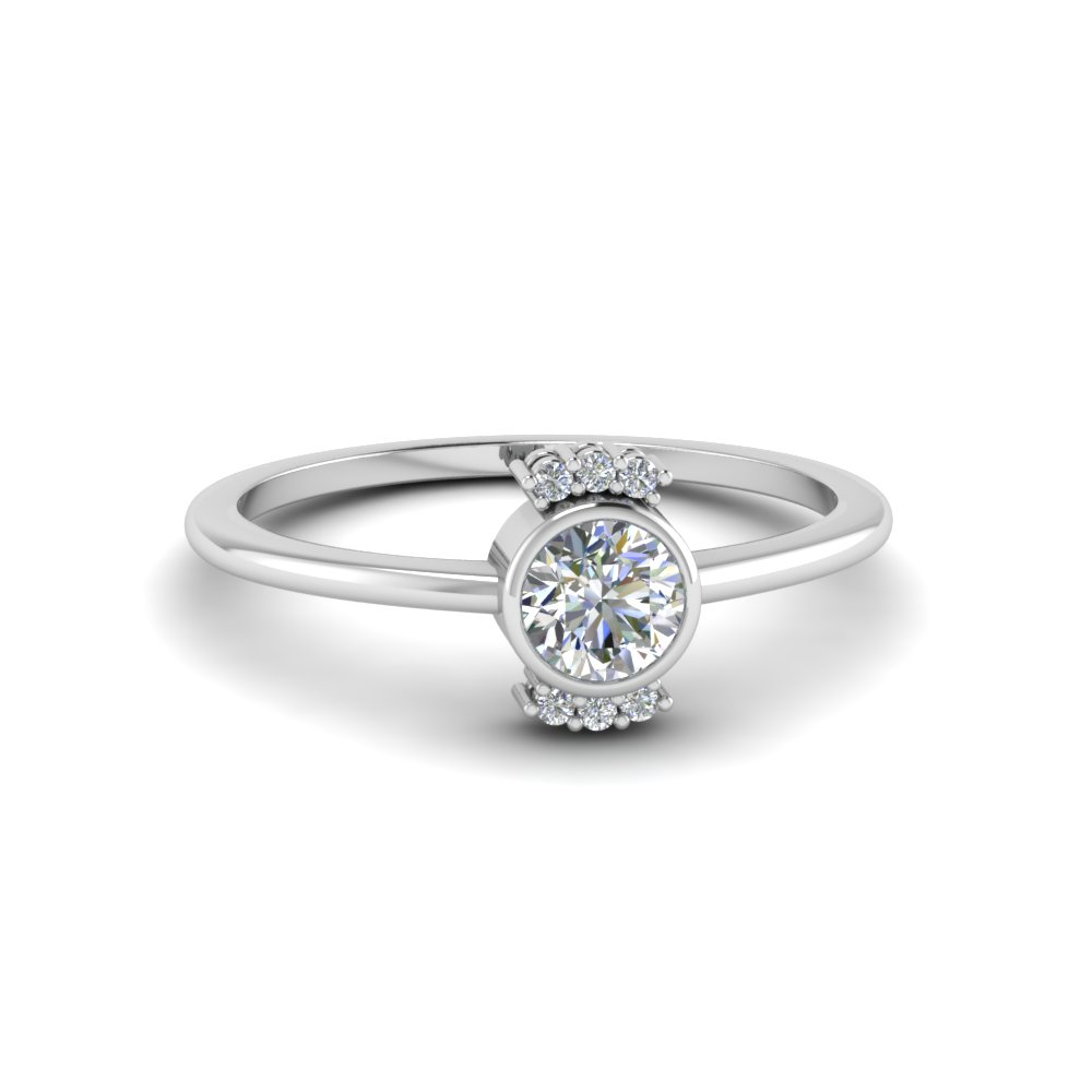 double round band hana engagement micropave rings diamond design unique ken dana products ct april f