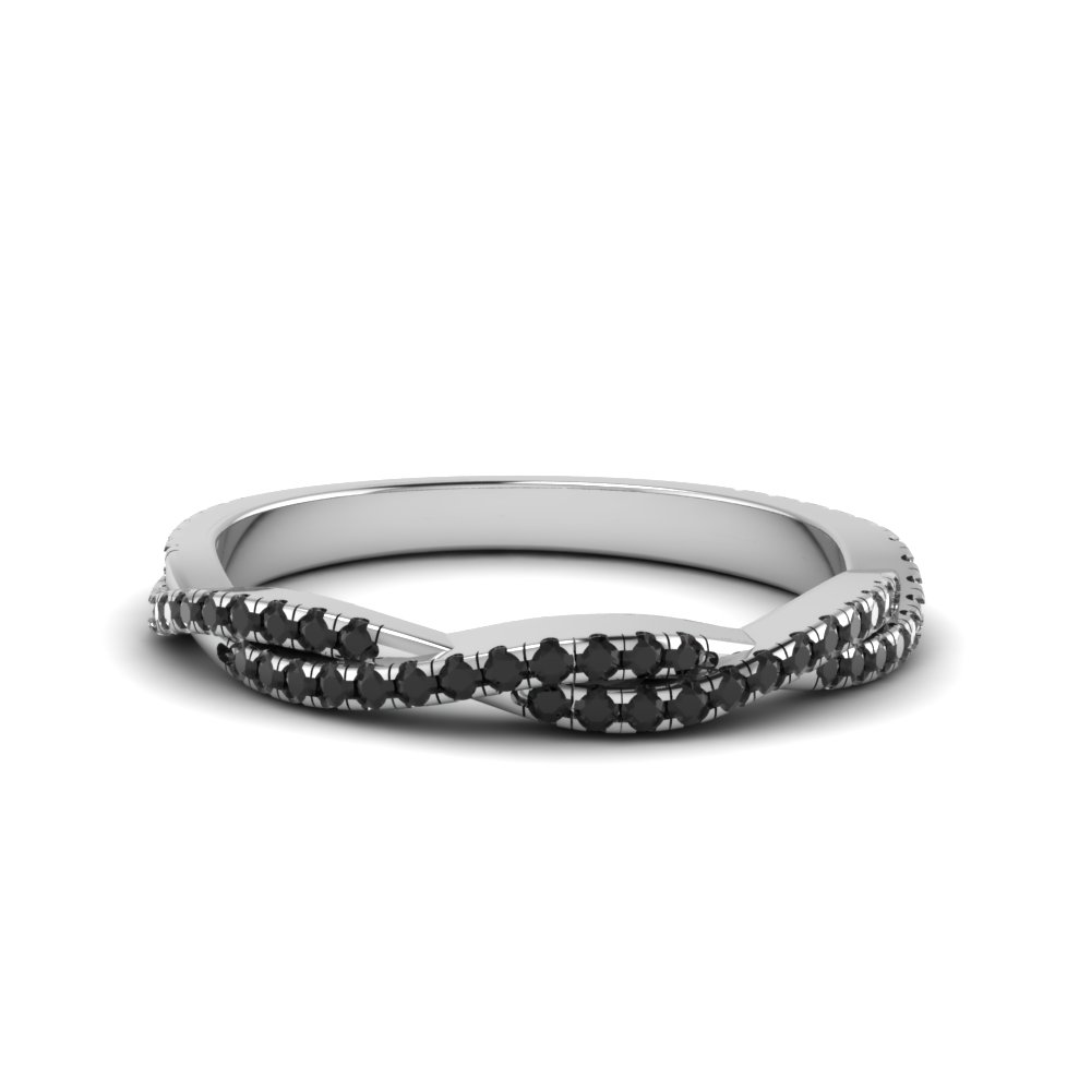 Twisted Wedding Band For Her