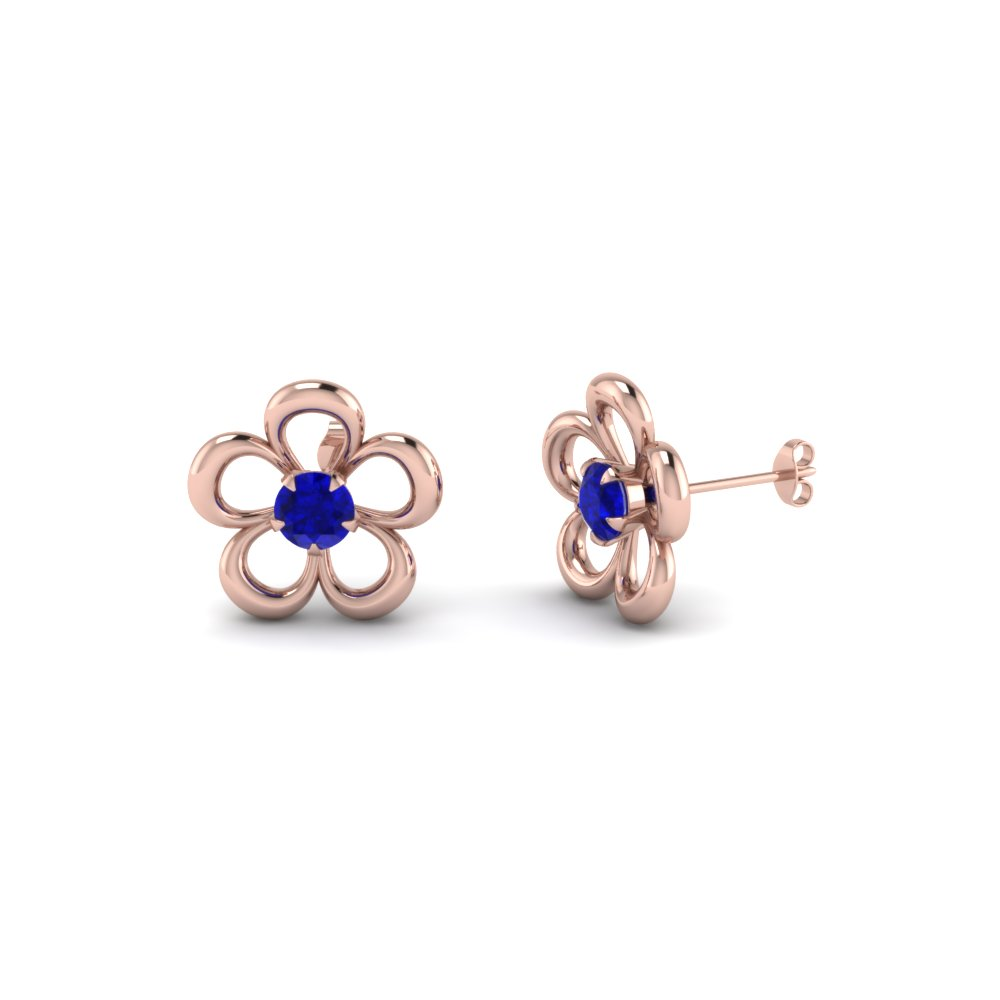 Rose Gold Stud Earring