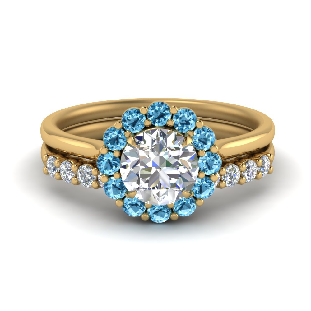 blue-topaz-flower-ring-with-diamond-band-in-FD9167ROB2GICBLTO-NL-YG