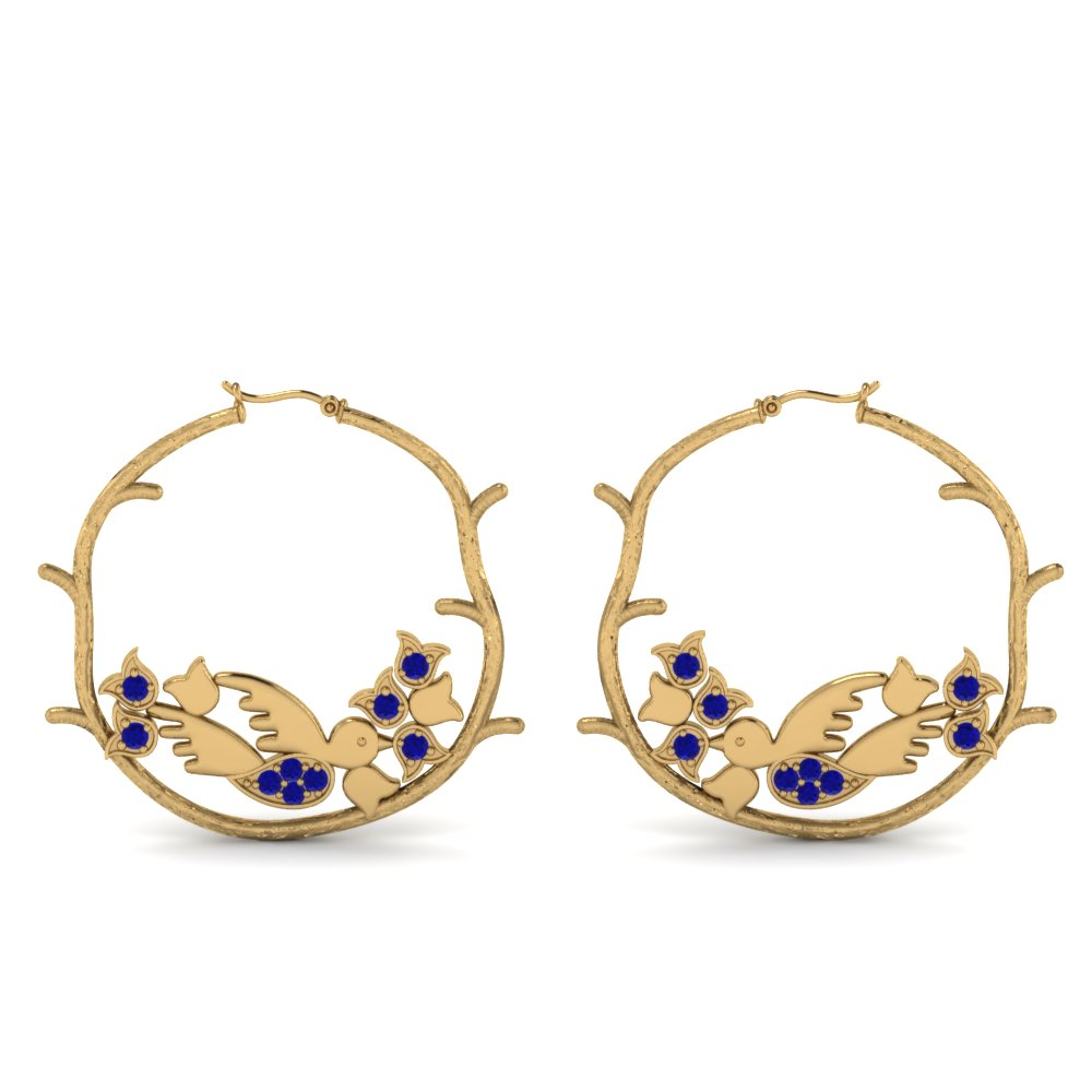 branch-bird-hoop-sapphire-earring-in-FDEAR8861GSABLANGLE1-NL-YG