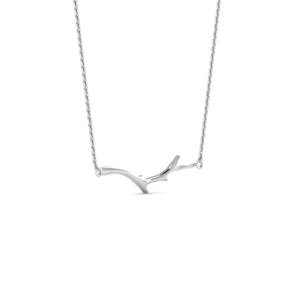 Branch Design Necklace Pendant