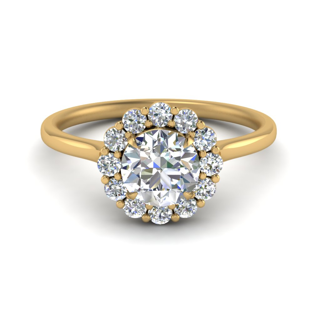 cathedral-flower-diamond-engagement-ring-setting-in-FD9167ROR-NL-YG
