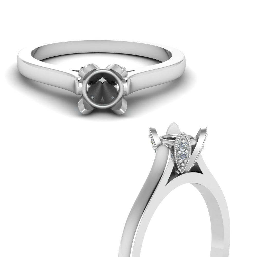 Unique Prong Ring Setting