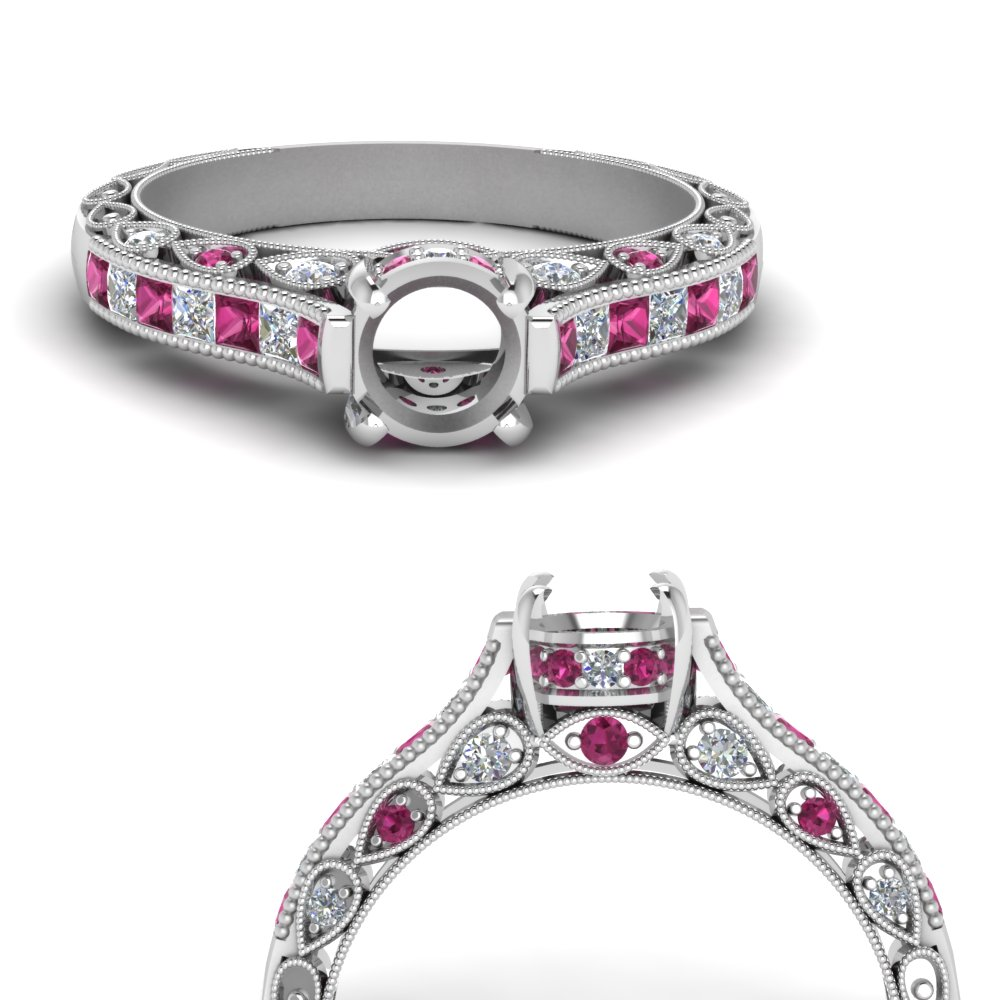 cathedral-vintage-style-semi-mount-diamond-engagement-ring-with-pink-sapphire-in-FDENR6819SMRGSADRPIANGLE3-NL-WG