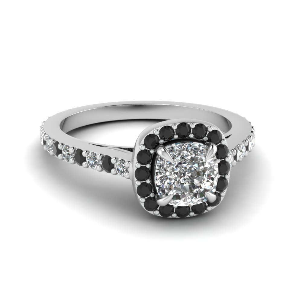 Large Selection Of Black Diamond Vintage Engagement Rings ...