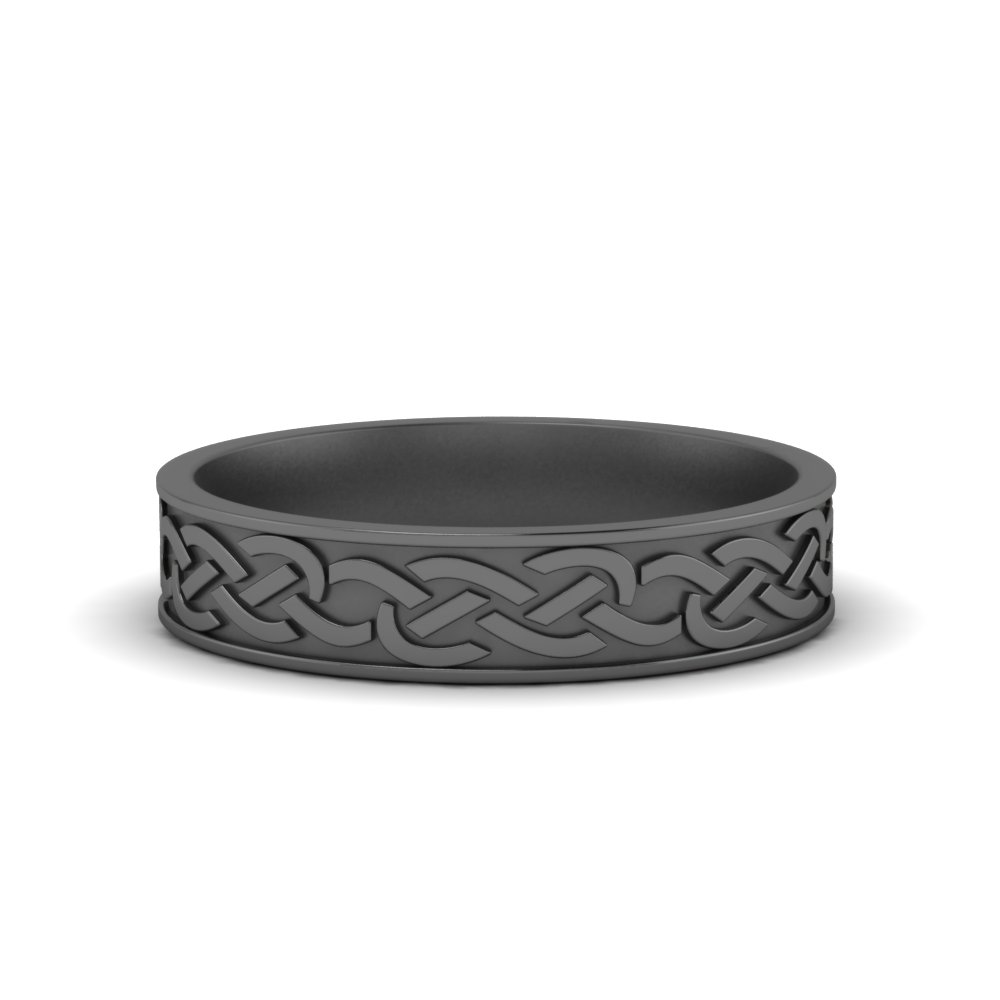 Celtic Design Wedding Band