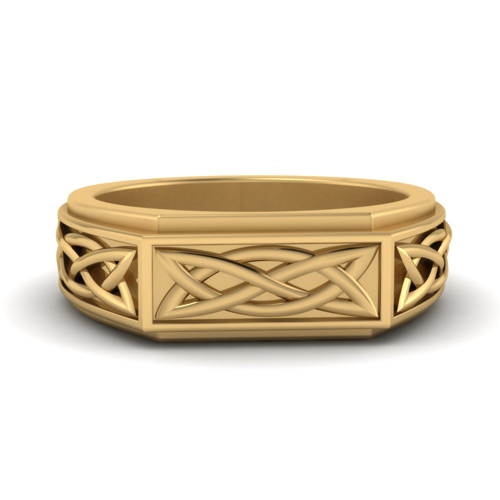 celtic-mens-engraved-ring-in-FDM9847-NL-YG