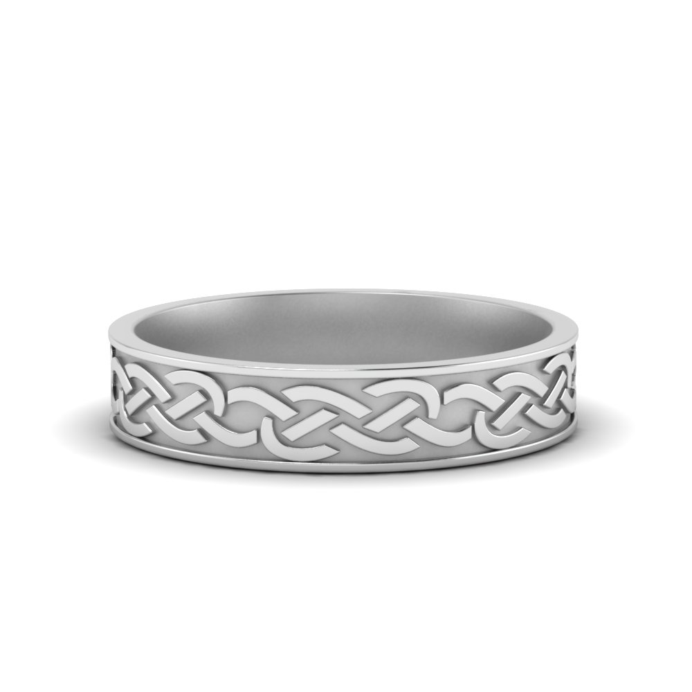 Celtic Mens Wedding Ring