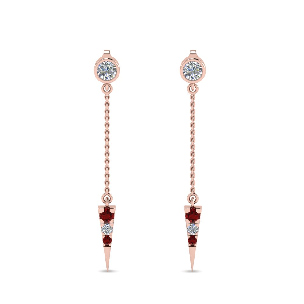 gold spade and crystal stud tradesy i red kate earrings pave