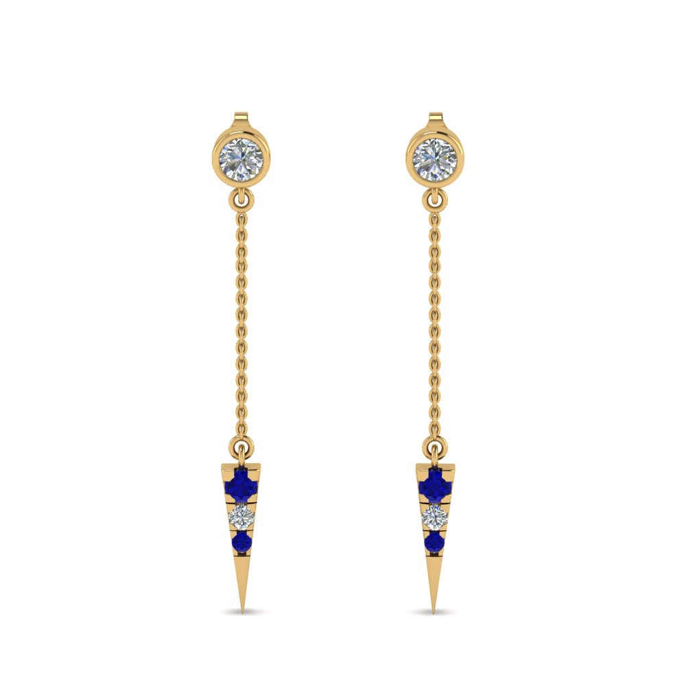 chain-drop-diamond-dangle-earring-with-sapphire-in-FDEAR8456GSABLANGLE1-NL-YG