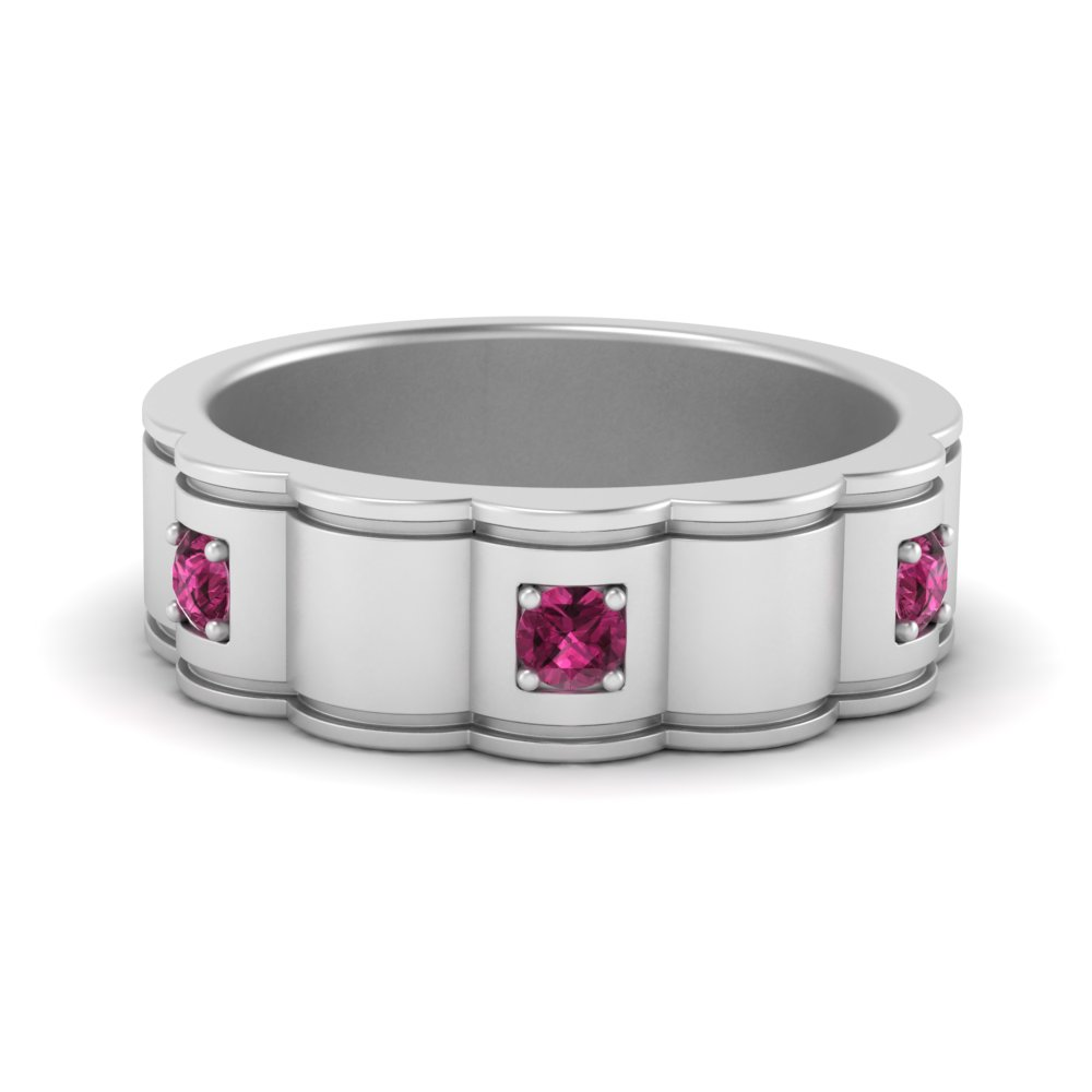 chain-link-and-pink-sapphire-mens-wedding-band-in-FDM9787GSADRPI-NL-WG
