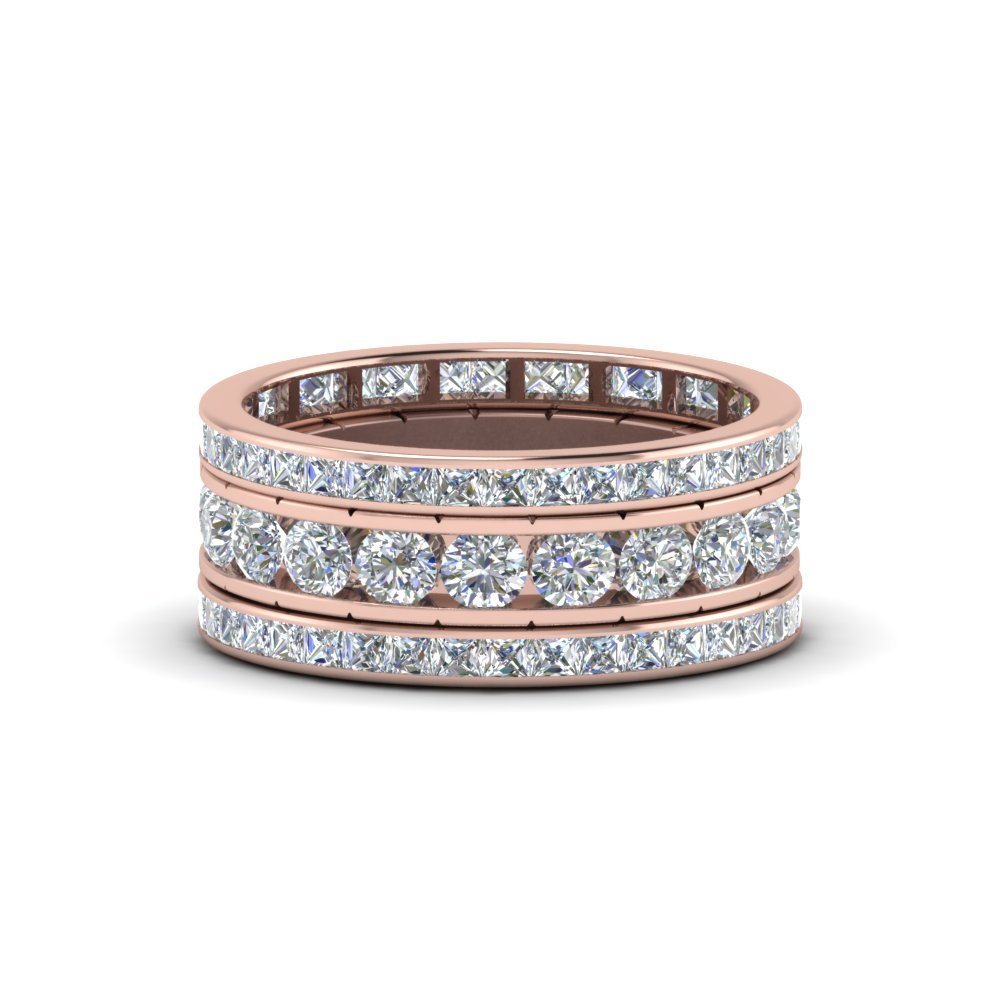 Rose Gold Stackable Rings & Bands