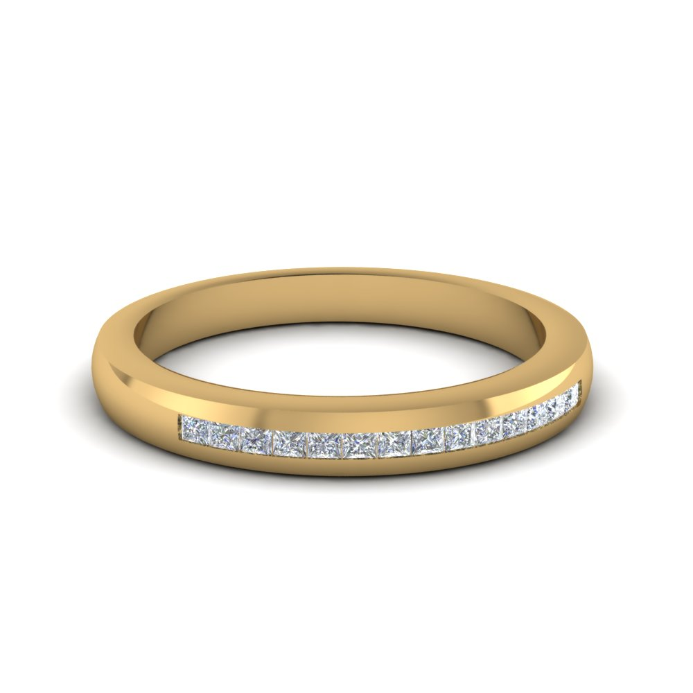 Classic Channel Diamond Glossy Band
