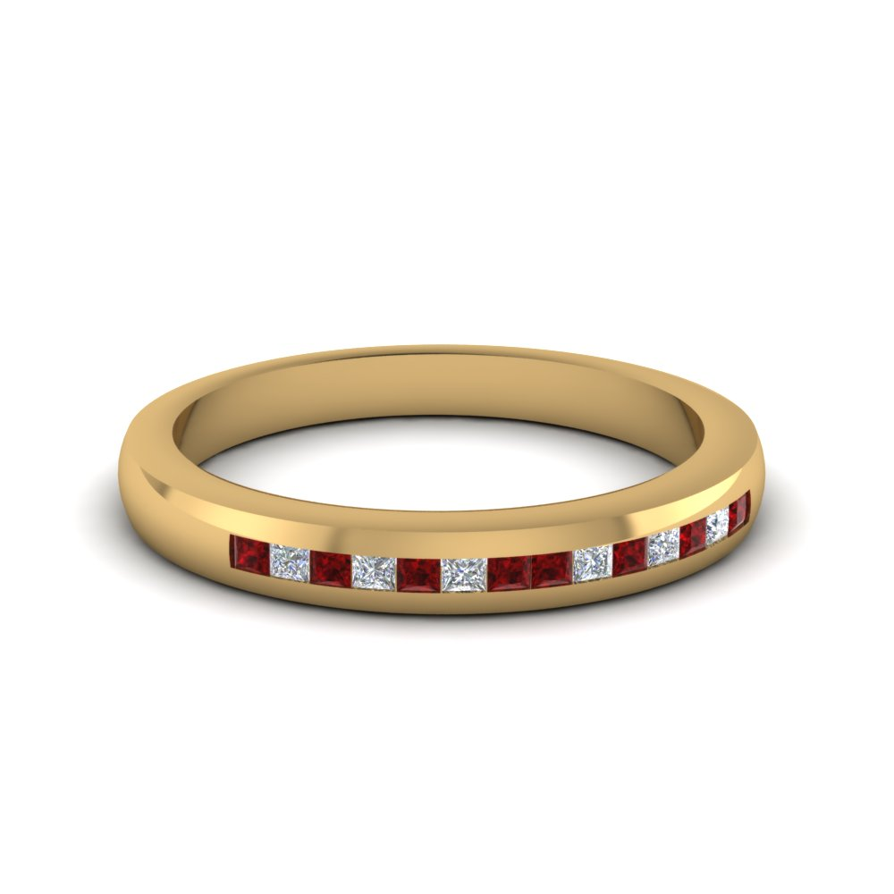 Ruby Glossy Band For Women
