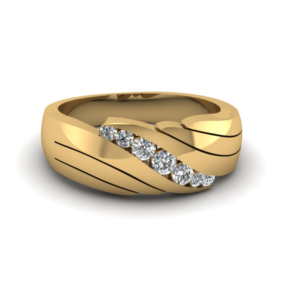 gold studded cz rings ice band stone wedding sterling king ring products silver bands
