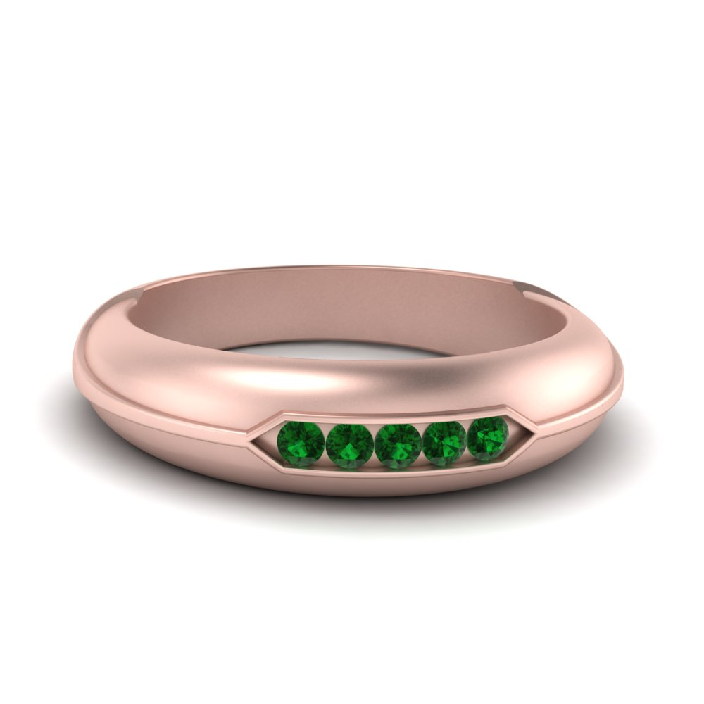 channel-set-five-stone-mens-emerald-ring-in-FDM9852ROR(1.70MM)GEMGR-NL-RG-GS