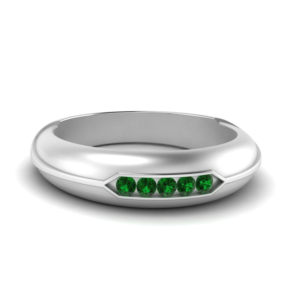 channel-set-five-stone-mens-emerald-ring-in-FDM9852ROR(1.70MM)GEMGR-NL-WG-GS