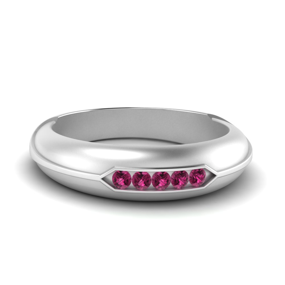 channel-set-five-stone-mens-pink-sapphire-ring-in-FDM9852ROR(1.70MM)GSADRPI-NL-WG-GS