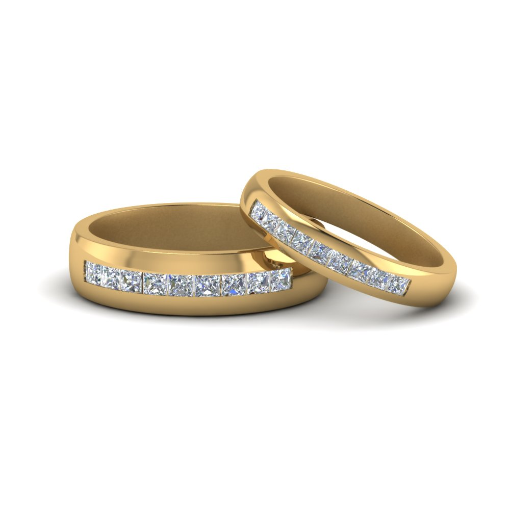 Channel Matching Wedding Set