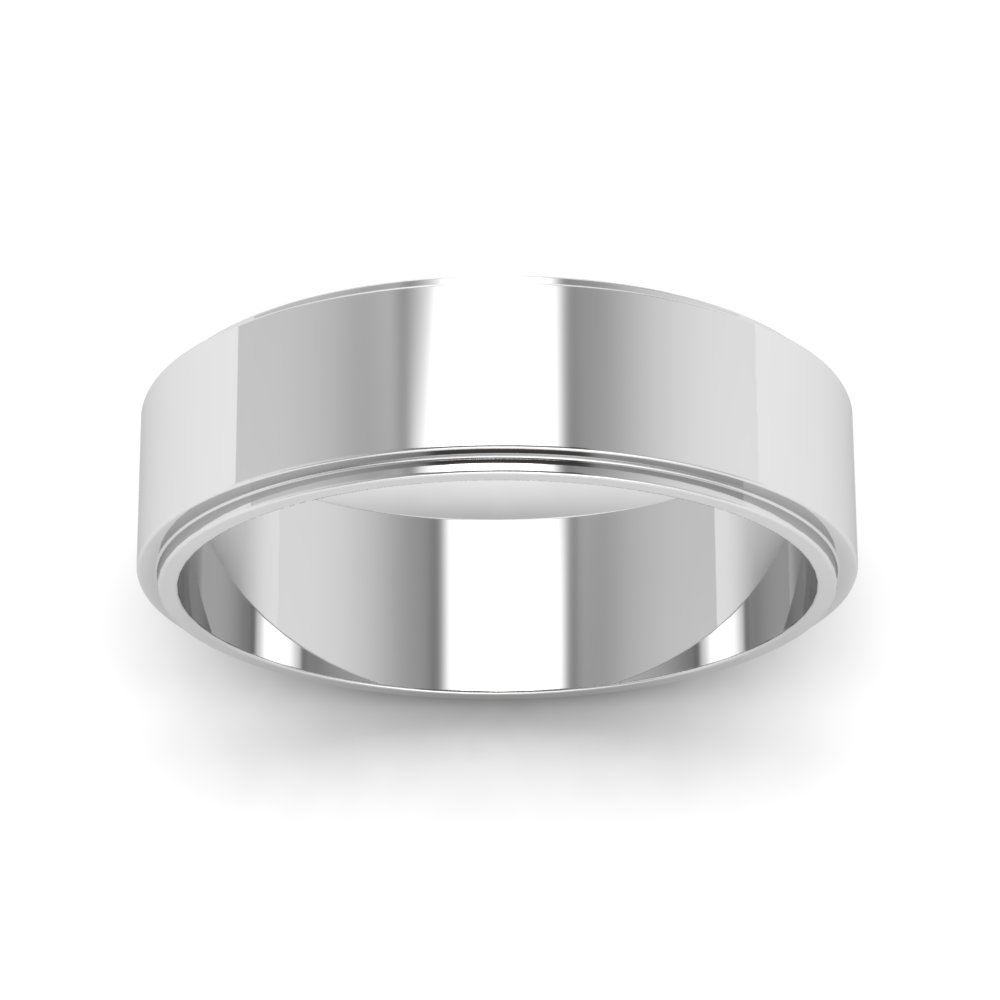 polished sterling wedding domed high classic platinum bands plain thumb band double men women silver accent to s ring