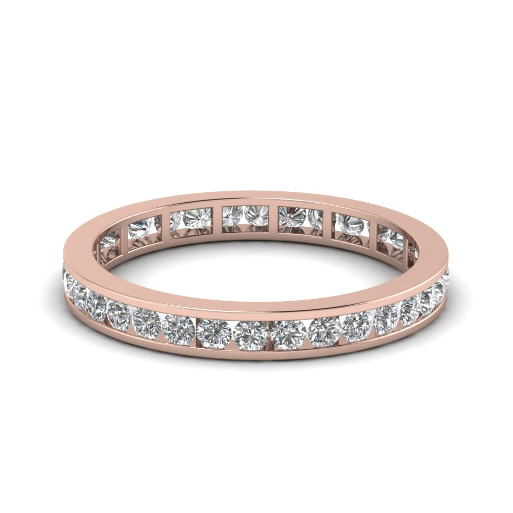 3/4 Carat Channel Set Eternity Band