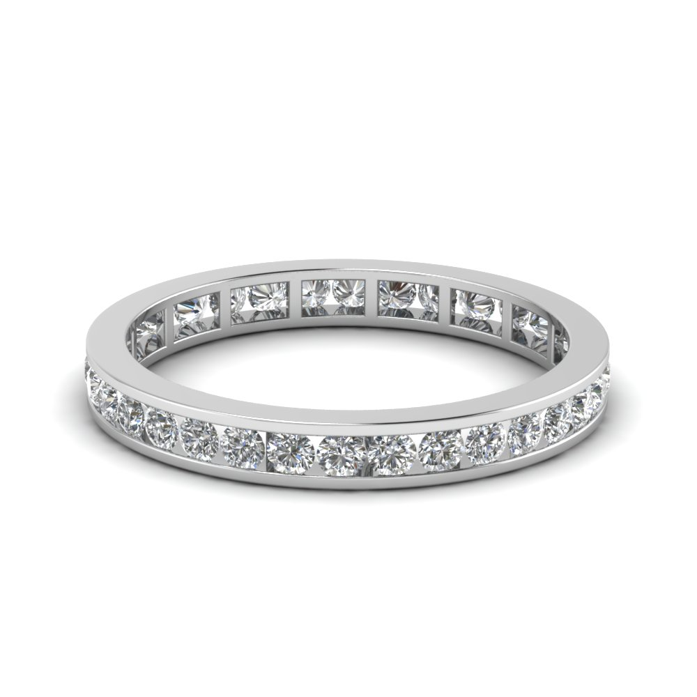 0.75 Ct. Channel Set Eternity Band