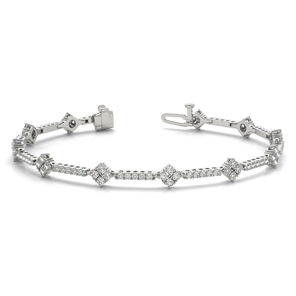 twt fancy in bracelet white gold tennis bracelets ct d design diamond