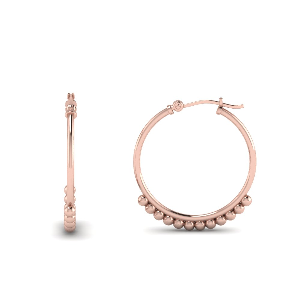 classic hoop earring for girls in FDEAR8969  NL RG