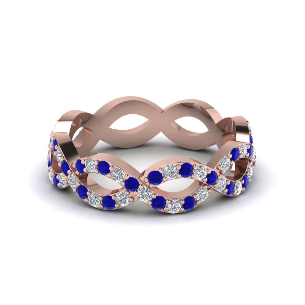 Infinity Sapphire Rings