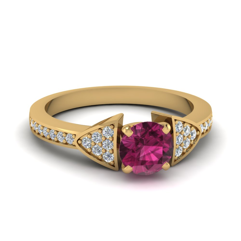 classic-pink-sapphire-engagement-ring-in-FDENS3305RORGPS-NL-YG