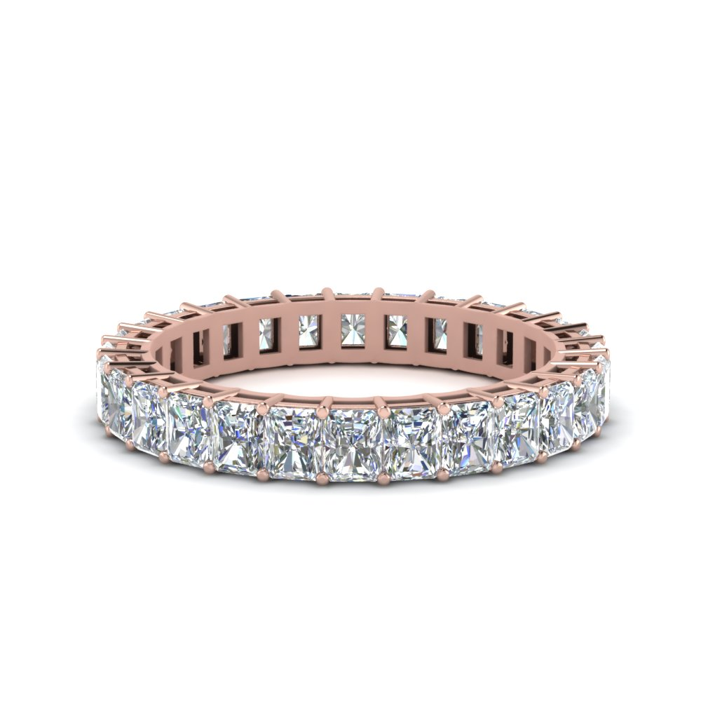 3 Ct. Radiant Cut Eternity Ring