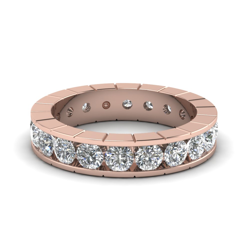 classic channel diamond eternity band in FDEWB470B NL RG