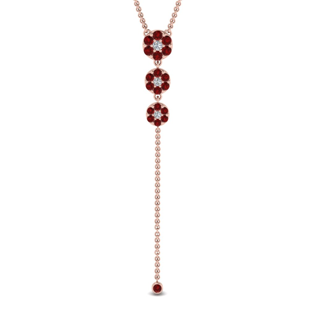 cluster-graduated-diamond-drop-pendant-with-ruby-in-FDPD9238GRUDRANGLE1-NL-RG