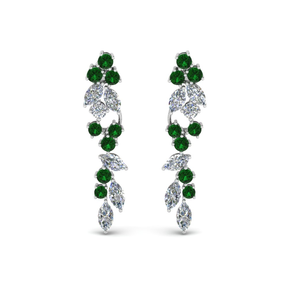 Extraordinary Emerald Earring